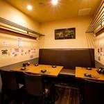 赤坂 よ志多 - テーブル個室席