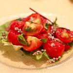 ビストロそれいゆ - 中野さんのおいしいトマト