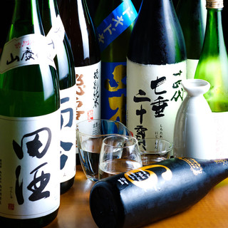 【日本酒は常時30種類以上】お得な飲み放題も充実!