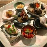 貝料理専門店 ゑぽっく - 前菜7種盛り合わせ