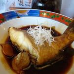 博多 華吉 - ◆黄アラはクエの仲間で、身もプリプリですね。 オーダーしてから調理されたのですが、生姜の風味もよく甘辛いお味付で好み。