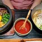 銀座 美菜莉 - 石焼ビビンバ、冷麺