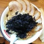 滋魂 - チャーシュー麺岩のりトッピング