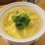 麺処 凪 - スパイシー肉ワンタン麺2017.09.14