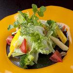 ワイン懐石 銀座 囃shiya - 料理写真:朝採れ野菜