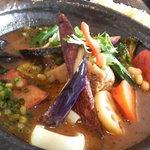 Soup Curry SAMURAI. - 角煮と旬菜