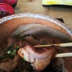 楽豚 - 豚トロチャーシュー断面図