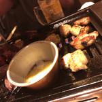 にくろう - バジル鶏肉もありました