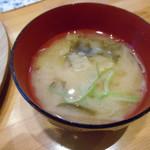 自然食工房めぐみ - お味噌汁♡