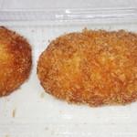 魚津ご城下の台所 藤吉 - 牛メンチカツ・うずら卵入りメンチカツ