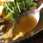 サッポロ スープカレー 浅野屋 - スープ