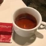温たいむ - ランチセットに含まれる紅茶