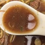 神名備 - 醤油のスープ