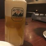 73099176 - 生ビール(アサヒスーパードライ)