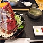 MEAT MARKET - ローストビーフ丼   夢      ¥1380