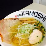 鶏 ソバ カモシ - 料理写真: