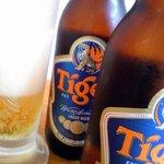 ファイブスター・カフェ - シンガポールといえばタイガービール