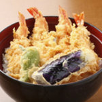 天ぷら ひさご - ボリューム満点大海老丼