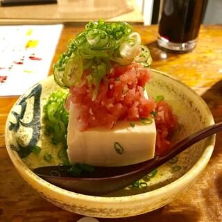 赤津加 - まぐろたたき豆腐