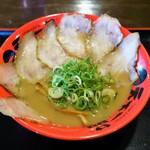 天下一品 - 料理写真:豚トロチャーシューメン(930円)