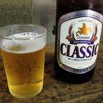 73104158 - ぎんねこ 「瓶ビール(サッポロクラシック)」