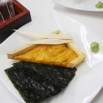 おかもと鮮魚店  - うに ¥時価(ハーフでおそらく¥1,500程度)