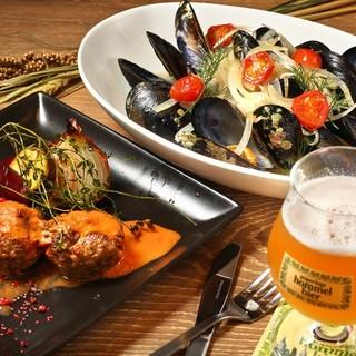 ベルギーの郷土料理と創作ビール料理☆