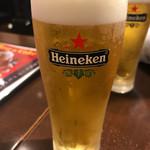 ディアボロ バンビーナ ドゥエ - ちょい呑みセット780円のビール