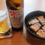凪家 - 燻製ベーコン&ノンアルコールビール