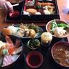米寿司 - 料理写真:お惣菜と海鮮丼のランチです。 久しぶりにお惣菜食べました。