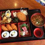 米寿司 - 妻の米寿司ランチです。850円は安いですね。