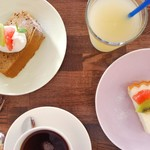 Drink and Dolce(ドリンク&ドルチェセット) +350円