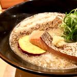 饗 くろ喜 - <2017年09月再訪>秋鮭の味噌そば・1,200円