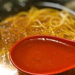 麺遊心 - 綺麗なスープです