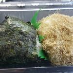 銀のめし - 昆布と高菜