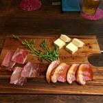 ASD roast style  昼カフェ、夜バル。 - 前菜盛り合わせ(3種)