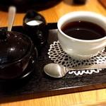 24/7 café apartment - ドリンクセットのホットコーヒー