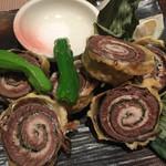 ゆず - 秋刀魚と梅シソの揚げ物
