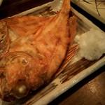 海の日  -  旬の旨い天然魚自家製の干物。