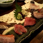 海の日  - 天然魚の熟成刺身