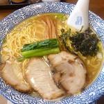 らぁめん とん平 - 料理写真:塩らぁめん 2017.9月