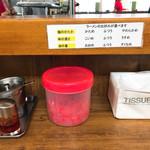 松福 - 麺・スープ・油の量