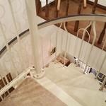クプクプカフェ - 二階への階段