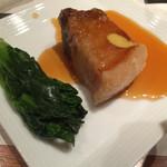 えん - 揚げ物:豚の角煮黒酢あん