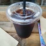 ヒグマドーナッツ - アイスコーヒーup