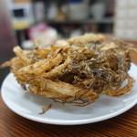 大衆食堂スタンド そのだ - ☆【大衆食堂スタンド そのだ】さん…もずく天ぷら(≧▽≦)/~♡☆