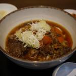 レストラン 笑和 - 料理写真:牛すじぶっかけ飯~☆