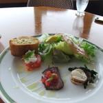 プラージュスッド - 佐島の地タコのスパゲッティーを食べました。「LOCAL POINT」はローカルサーファー達が守っているポイント