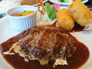 タパスブランコ アキバトリム店 - ハンバーグステーキセット
