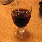 ステーキハウス源 - アイスコーヒー
